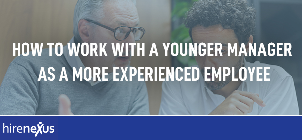 Working With a Younger Manager